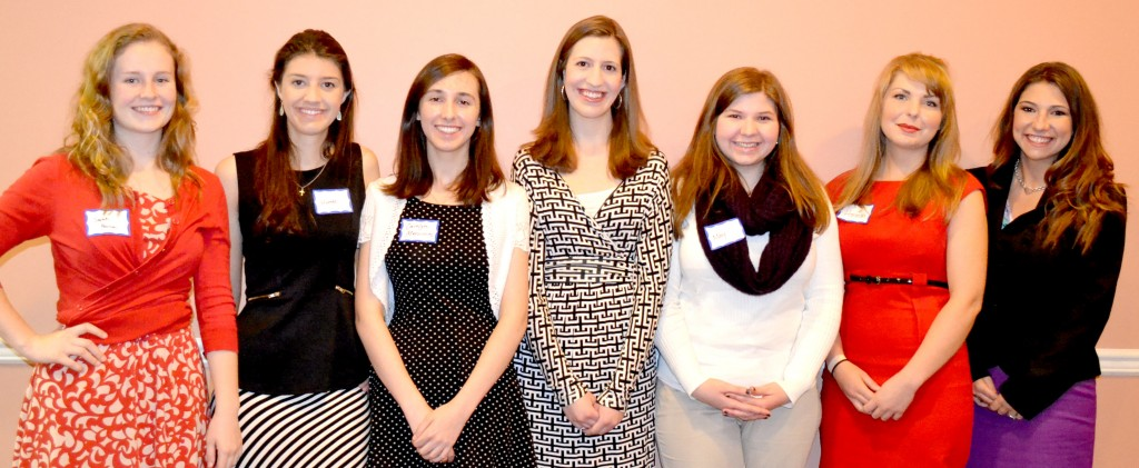 AAUW Scholarship Winners 2015